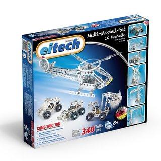 Eitech Metallbaukasten Multi-Modell-Set